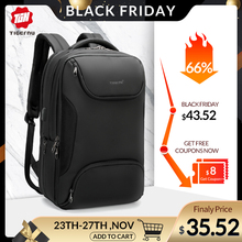 Laptop Backpack Mochila Travel-Bag Male Bag Anti-Thief Waterproof High-Quality Tigernu