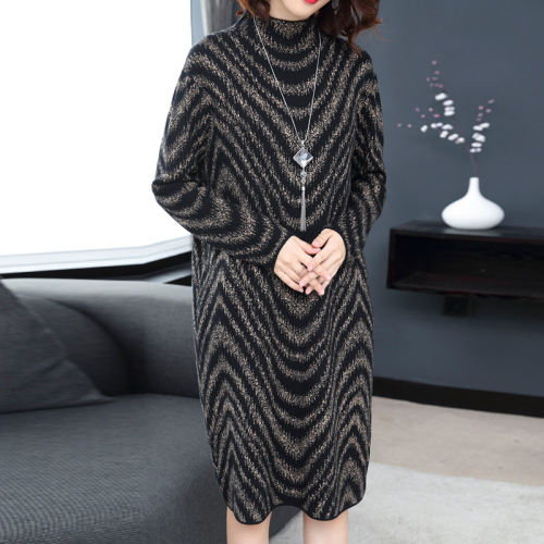 Knitted Sweater Dress  2