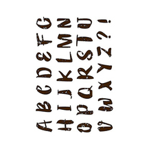 CLEAR STAMPS Alphabet letter Transparent stamp New 2019 Rubber Silicone Seal for DIY Scrapbooking Card Making Album Decor Crafts 4 6inches animals clear stamps seal for diy scrapbooking album crafts decor cards transparent stempels silicone stamp 2019 new