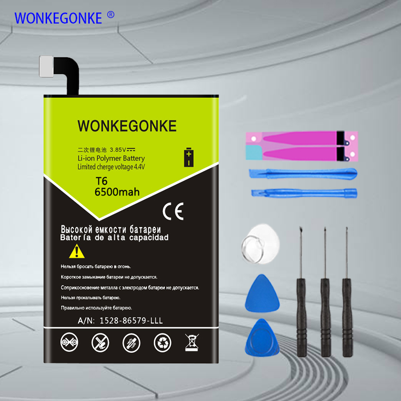 WONKEGONKE For <font><b>Doogee</b></font> <font><b>T6</b></font>/ <font><b>T6</b></font> pro <font><b>Battery</b></font> High quality mobile phone <font><b>battery</b></font> with tracking number image
