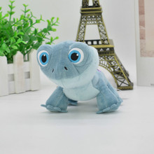 New 15cm Anime Character Huoling Blue Lizard Cute Plush Doll Toy Boy Girl Gift Cute Creative Doll Sleeping Pillow Toy Genius 30cm height limited edition eevee luma anime new plush doll for fans collection toy celebi
