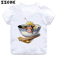 Anime Kakashi Baby t-Shirt Funny Cartoon Print Boys/girls Uzumaki Itachi Uchiha Gaara