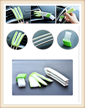 Car clean brush air conditioner computer blinds care For Toyota V Hilux Land Cruiser Avanza Carina Celica Corona Land Cruis(China)