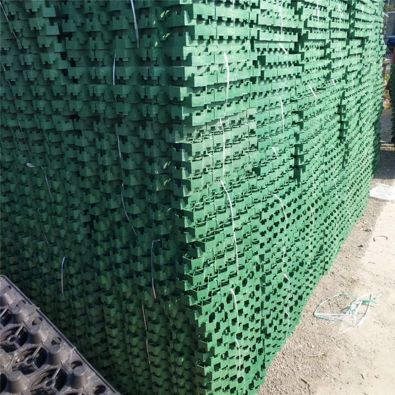 Golf Lane Grass Planting Cell Lawn Grass Planting Cell Firefighting Parking Lot Plastic Lawn Lattice Roof Garden