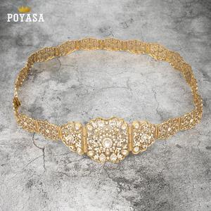 Image 5 - จัดส่งฟรีโมร็อกโก Pansy Caftan งานแต่งงาน gold และเข็มขัดโลหะเงินสำหรับสตรี