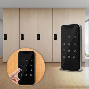 Image 2 - パスワードロックスマート電子パスワードロックサウナフィットネスキャビネット引き出しロックタッチスクリーンドアロック