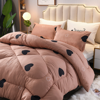 Luxury Comforters Ultra Soft Duvet King/queen/twin Sizes Beds Comforters Cute Style Down Sage Blanket For Girl Home Bedding