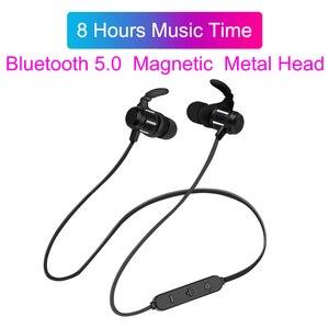 Image 5 - Wireless Earphone Neckband Bluetooth Headphons Sweatproof Fone De Ouvido Auriculares Bluetooth Inalambrico Headset for Phone