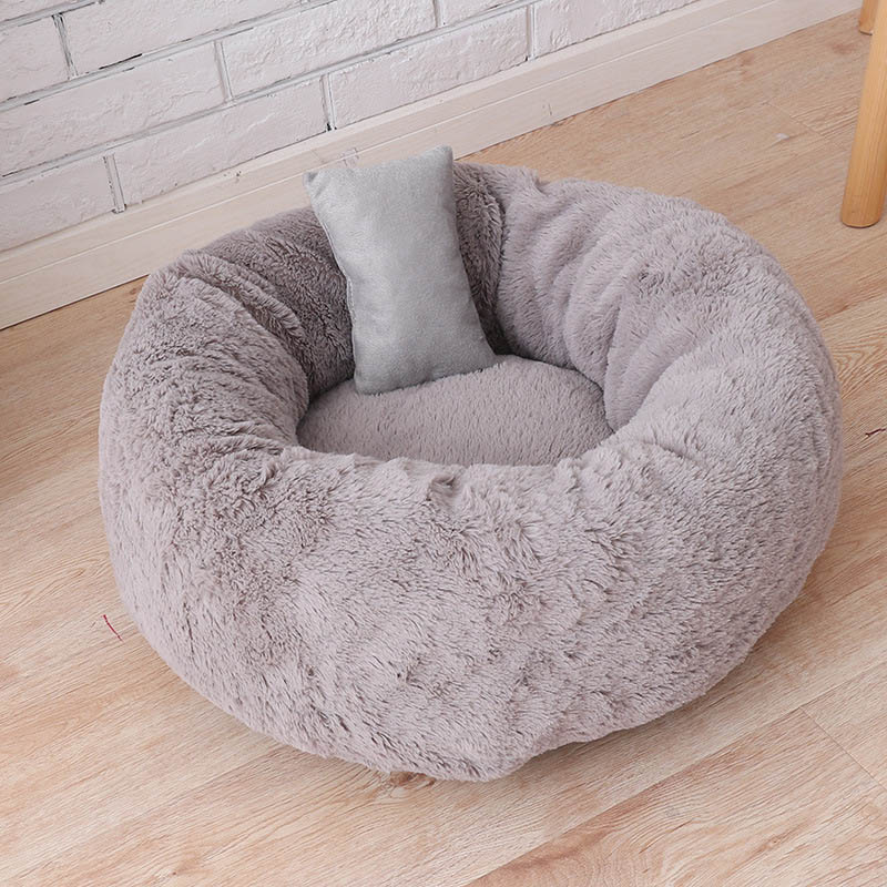 Warm Plush Indoor Cat House Kennel Dog Bed for Medium Dogs Machine Washable Outdoor Puppy Playen Tent Petshop Products S/M/L 12