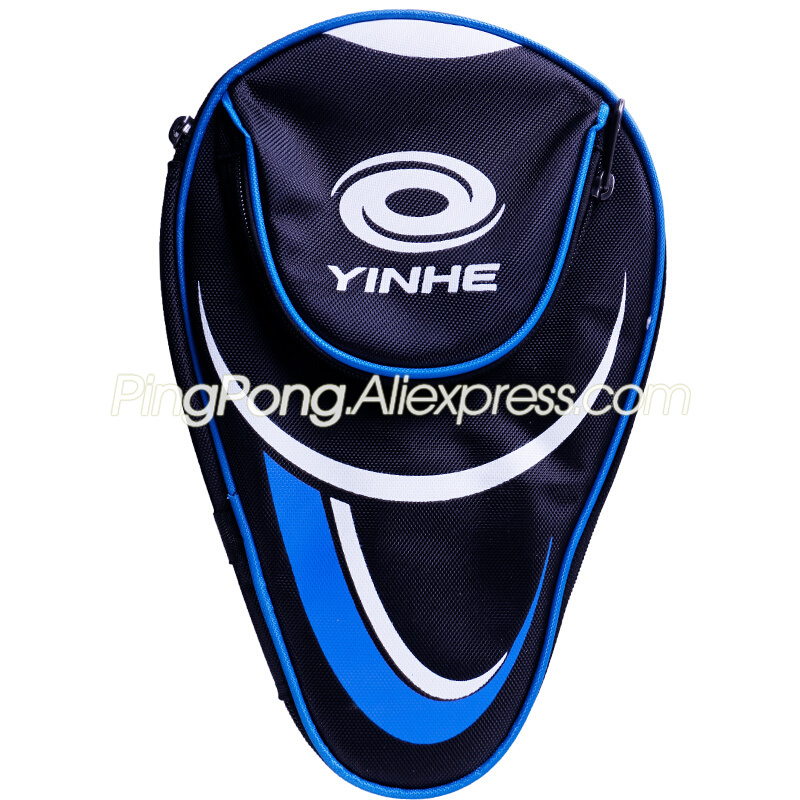 YINHE Table Tennis Bag With Gift (2x Protective Film + 1x Edge Tape) Original YINHE GALAXY Racket Bag Ping Pong Bat Case