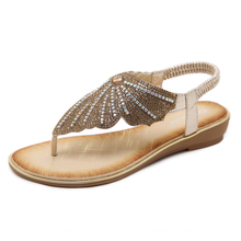 New flip flop hollow slip-on wedge heel summer patchwork slippers ladys sandals shoes woman