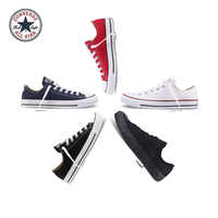 Oryginalny autentyczne Converse ALL STAR klasyczny Low-Top Unisex deskorolce buty dobrej jakości koronki-up wytrzymałe płótno obuwie