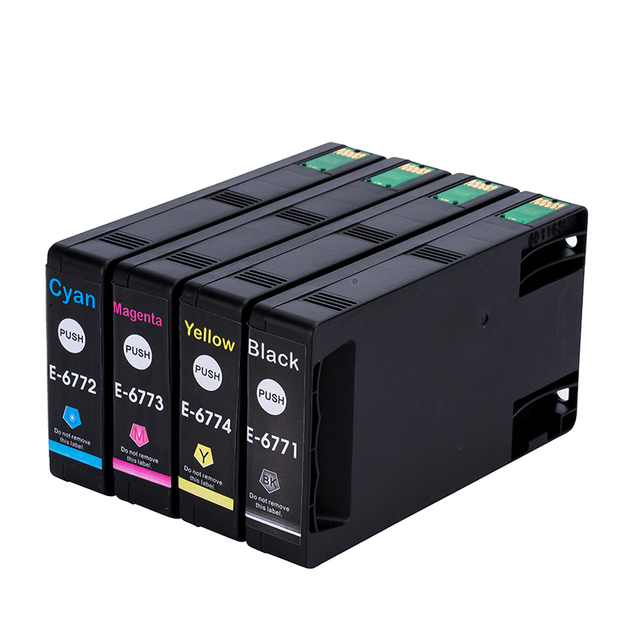 677xl cartouches dencre compatibles pour T6771 pour Epson effectif Pro WP-4011/4022/4091/4092/4511/4521/4531/4532/4592//