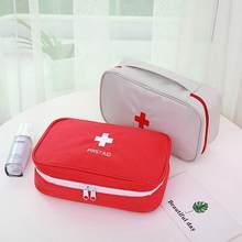 Saco médio portátil bolsa de primeiros socorros kit sobrevivência kit de emergência do carro vazio caixa de primeiros socorros