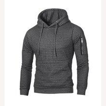 Свитер мужской однотонный пуловер Новая мода Мужской Повседневный свитер с капюшоном осень зима теплый Femme мужская одежда Slim Fit джемперы