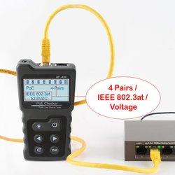 NOYAFA NF-488 di Rete PoE Tester checker Sopra il Ethernet cat5, cat6 Lan tester strumenti di rete di trasporto libero 2019 Nuovo Arrivo