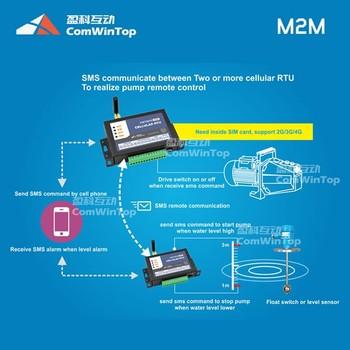 Wireless Remote 3G 4G Gprs Gsm Sms Water Tank Level Motor Heat Pump Switch Starter Controller