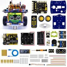 Keyestudio Desktop Mini Bluetooth Smart Robot Car Kit  V3.0 for Arduino Robot STEM/Support Mixly blocks coding