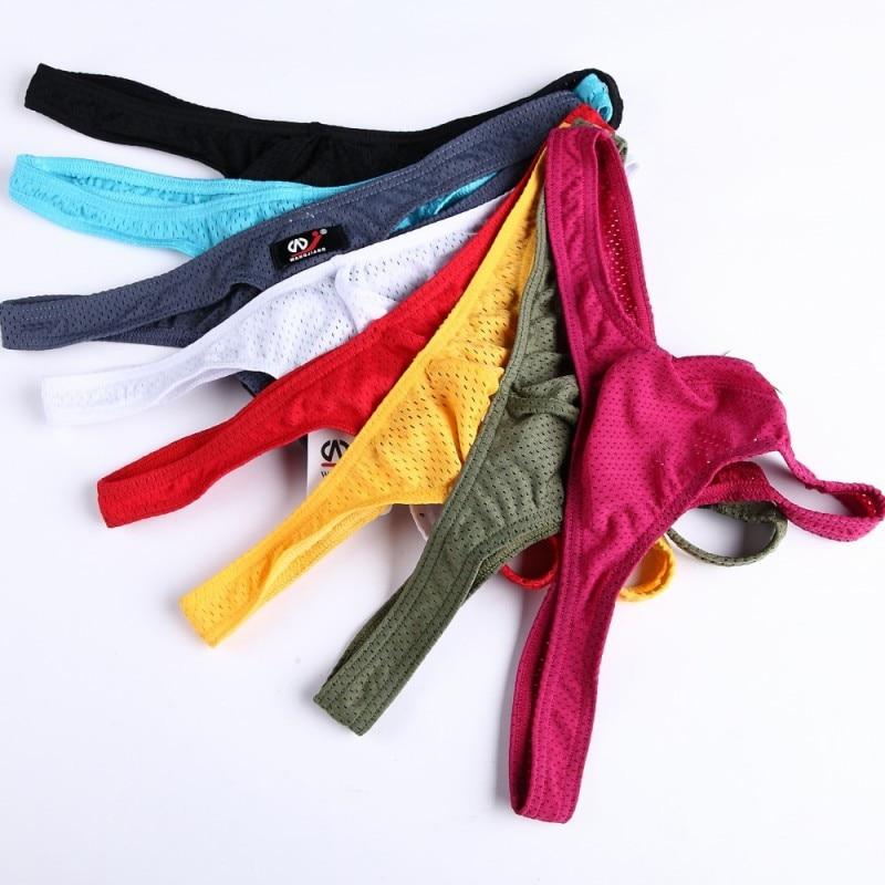 MEN'S Underwear wangjiang wj-MEN'S Underwear Mesh T-back Amazon AliExpress 1001DK