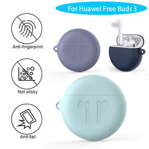 Silicone-Case Headset-Case Protective-Cover-Accessories Bluetooth Earphone Huawei Freebuds
