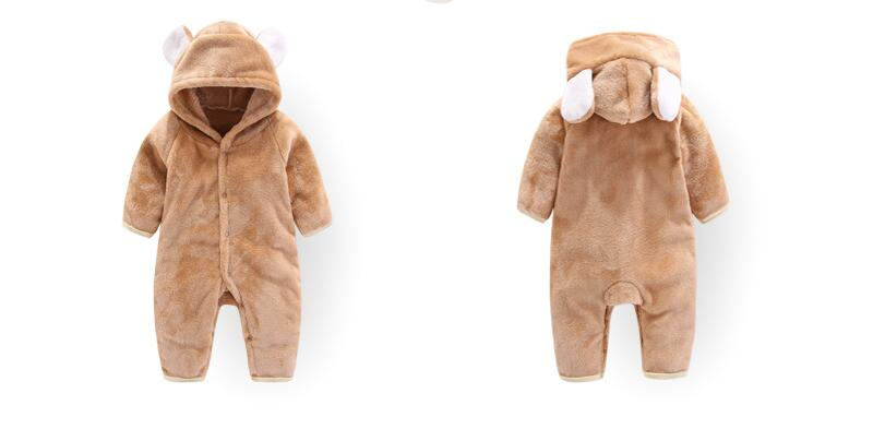 H5bbd6972860c46baa646b505a72660bbJ 2019 Newborn Baby Winter Hoodie Clothes Polyester Infant Baby Girls Pink Climbing New Spring Outwear Rompers 3m-12m Boy Jumpsuit
