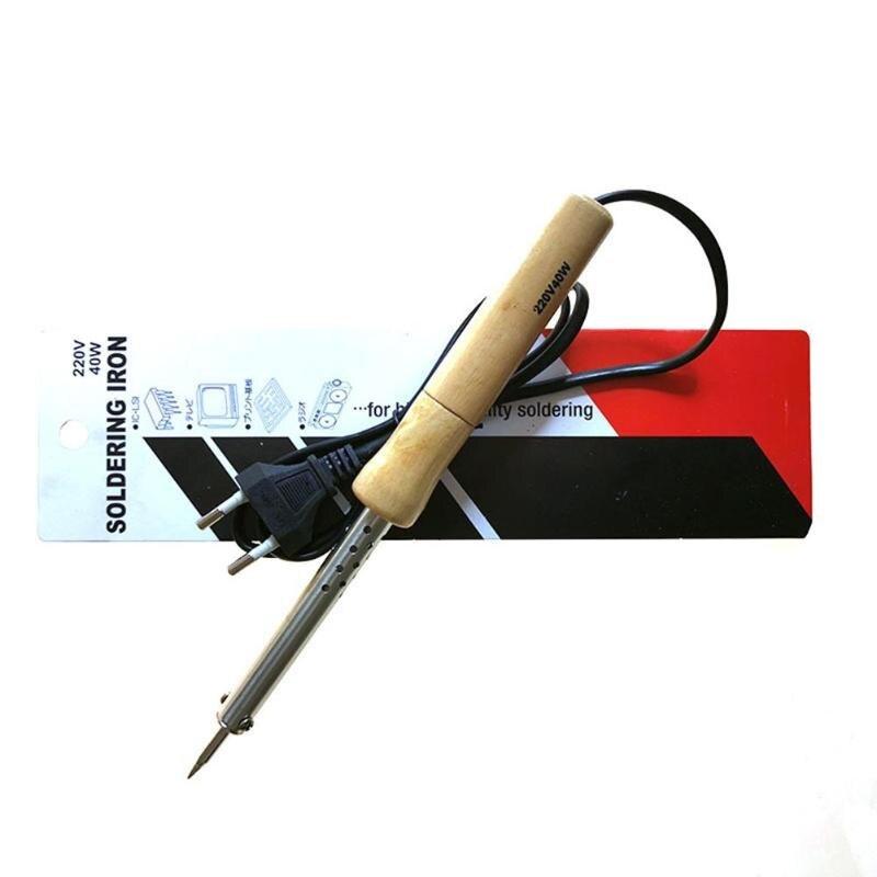 80W/100W Soldering Iron Adjustable Temperature Electric Solder Iron Rework Station Mini Handle Heat Pencil Welding Repair Tools