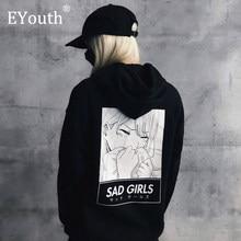 Sweat à capuche à manches longues pour homme et femme, vêtement Streetwear, imprimé Manga, dessin animé, Otaku