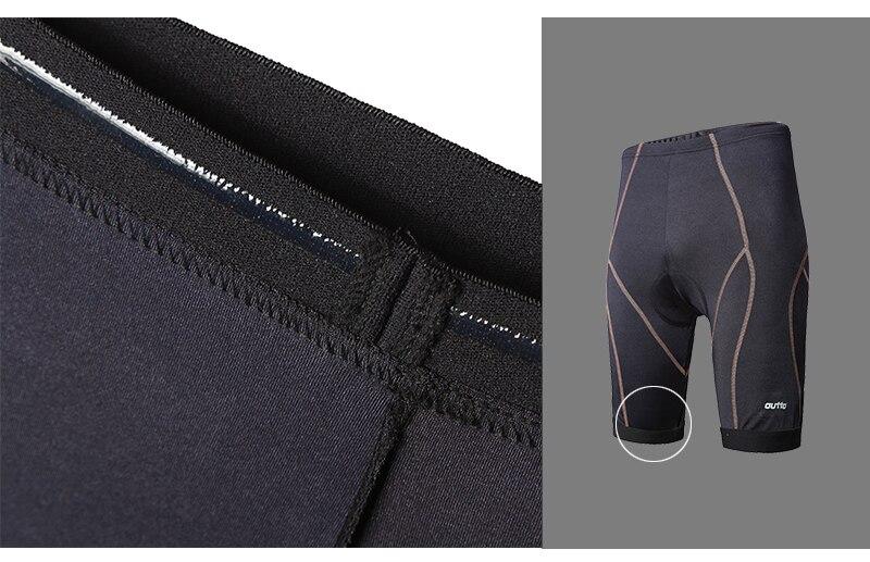 Baggy Cycling Shorts Bike Off Road Downhill MTB Hi-Density Men Short Zipper Pant