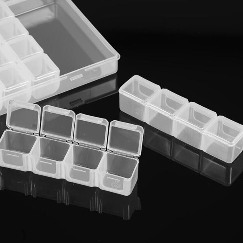 Diamond Painting Accessories Embroidery Case  60 Solts  Geometric Storage Box