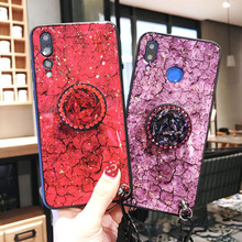 Marble Texture Luxury Phone Case For Huawei Y9 2019 Y7 Y6 Prime Y5 2018 Soft TPU Back Cover Coque Gift Honor 10 Lite 9 20 7C Pro marble texture luxury phone case for huawei y9 2019 y7 y6 prime y5 2018 soft tpu back cover coque gift honor 10 lite 9 20 7c pro
