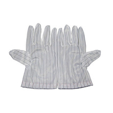 1 Pairs Anti-static Anti-skid Gloves White Striped For ESD BGA Repairing Soldering Working a roll 10m 1 2m 2mm esd mat anti static mat antistatic blanket esd table mat for bga repair work