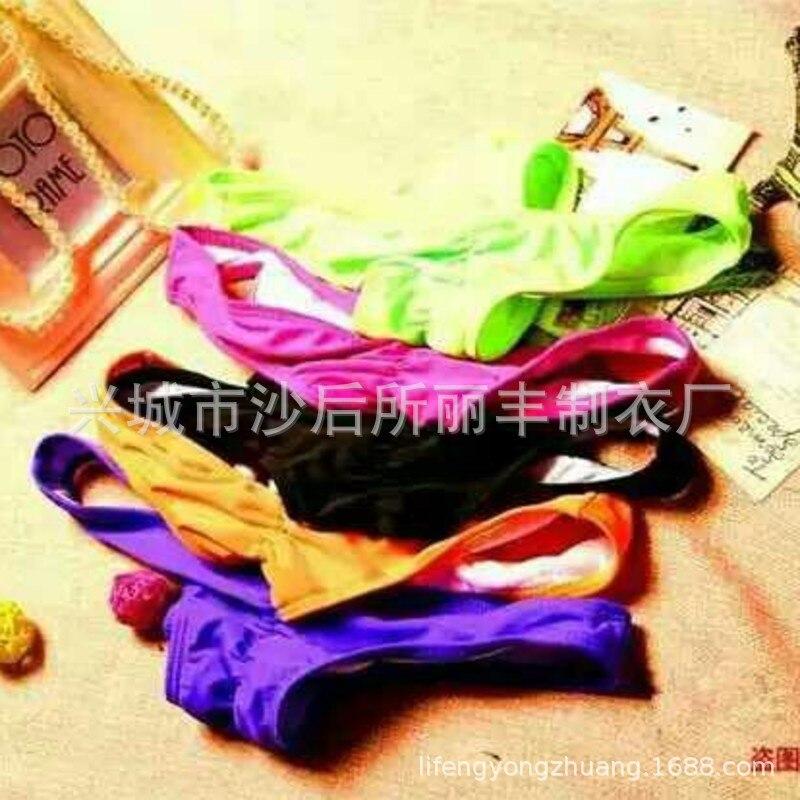 2019 European And American Sexy Swimsuit AliExpress Hot Selling Bikini Solid Color Chest Bow Biki Ding Zi Ku