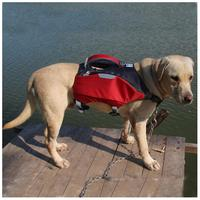 Dog Life Jacket and Backpack Vest for Swimming Large Pet Float Coat Swimsuits for Camping Swiming Traveling Boating