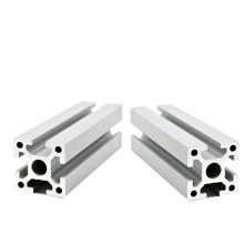 2pcs lot 3030 Aluminum Profile Extrusion European Standard Anodized Linear Rail Aluminum Profile 3030 DIY CNC 3D Printer Parts cheap Metalworking 3030 EU Corner Brackets 3030 extrusion Professional 3D Printers Plasma Lasers Stands 6063 -T5