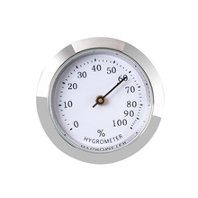 Humidity-Detector-Accessories Humidor Hygrometers Cigars Accurate Portable Round Mini