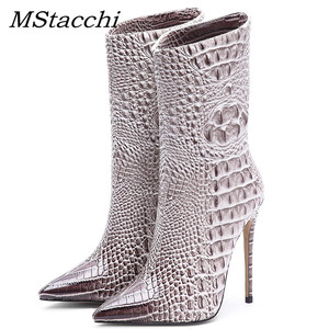 MStacchi Brand Women's High He