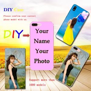 DIY Custom Phone Case For infinix Hot 6X S3X S4 5 S3 S2 3 5 6 7 Pro Samrt 2 Pro 3 Plus Zero 3 4 5 Stylus Print Cover Photo Name