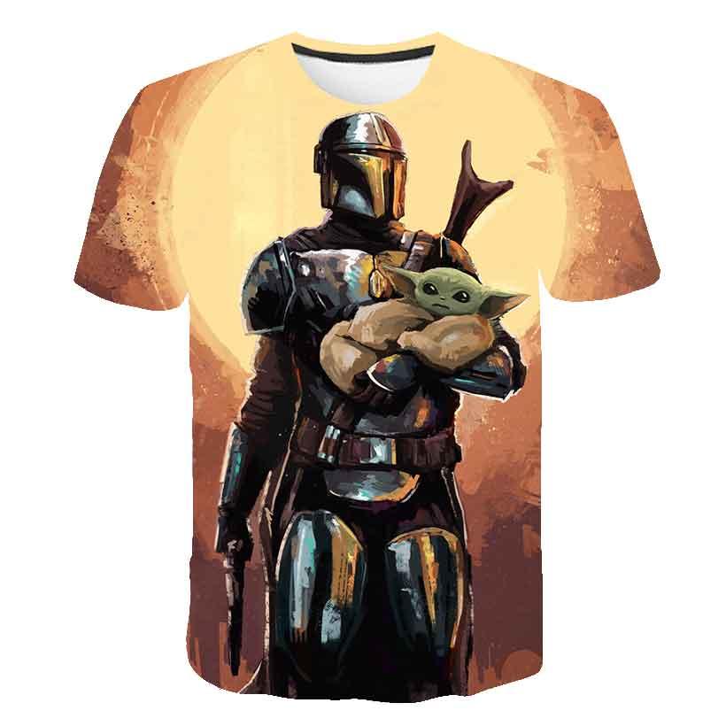 Baby Yoda 3D T Shirt Men/women Mandalorian Harajuku Star Wars T-shirt Satanist Moive Graphic Tees Men Tshirt Streetwear Top