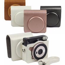 Pouch Case Camera-Bag Shoulder-Strap Carry-Cover-Protection Fujifilm Instax Square Sq6