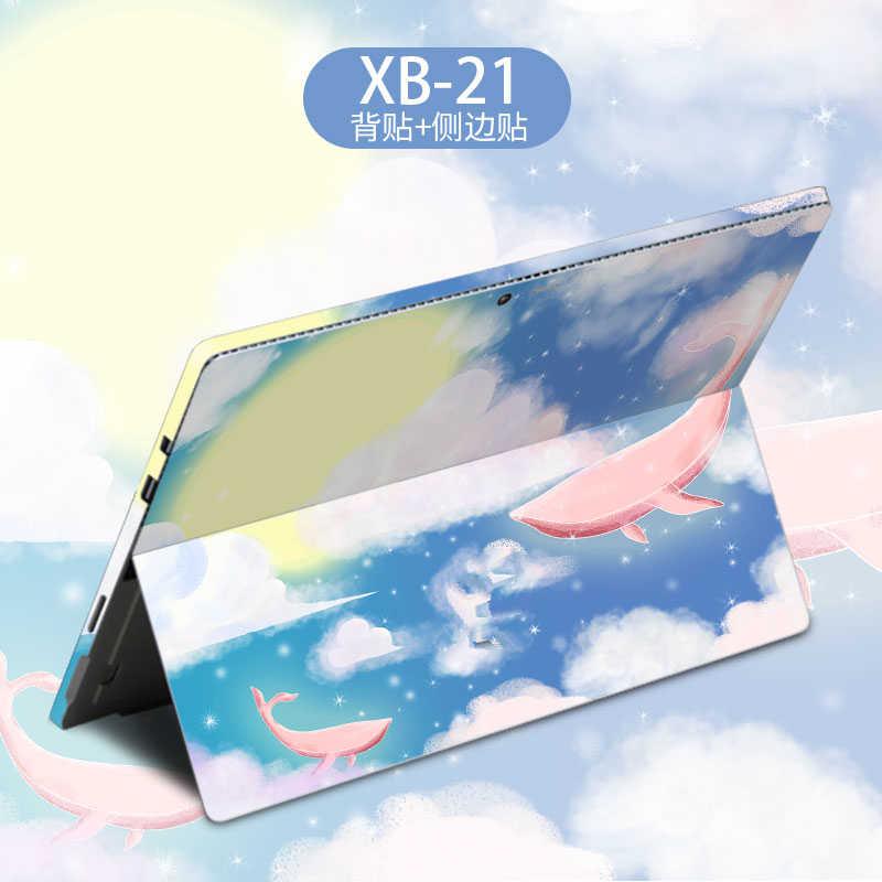 2019 Đá Cẩm Thạch Laptop Miếng Dán Da dành cho Microsoft Surface Pro 4 5 6 Đi 13.5 Vinyl Decal Mặt Sau Máy Tính Xách Tay Dán cho Bề Mặt