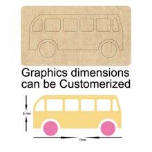 Bus wooden dies Steel Die new mould cutting for scrapbooking