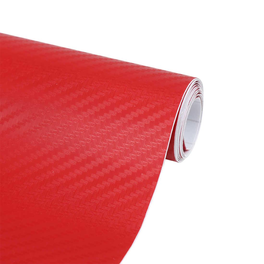 152x3 0 см/127 см x 30 см Виниловая автомобильная пленка из углеродного волокна, рулонная пленка, автомобильные наклейки и наклейки, аксессуары для стайлинга автомобилей мотоцикла