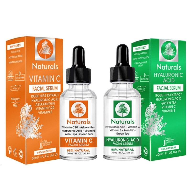MO TULIP Vitamin C and Hyaluronic Acid Serum Blackhead Remove Moisturizing Acne Treatment Skin Care Repair Anti-Aging Winkles