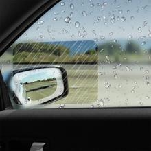 2 шт./компл. Анти-туман фильм, зеркальное окошечко, ясный Анти-туман заднего вида зеркальная защитная пленка Водонепроницаемый непромокаемый автомобильный Стикеры