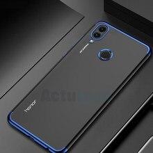 Coque arrière en Silicone souple pour Huawei, compatible modèles Honor 8C, 6.26, BKK-L21
