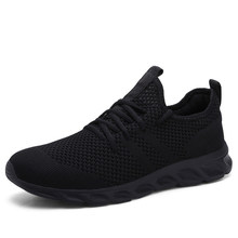Damyuan Hot-selling Classic Casual Sneakers for Men's Mesh Breathable Elastic Lace Shoes Male Workout Sports Running Shoes 48