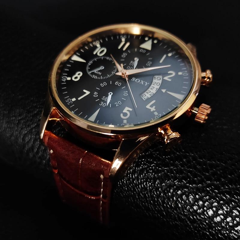 H5bbff679bac9457c8dfc41a32ecdcadfV Mens Watch SOXY  Classic Gold