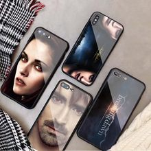 The Twilight Saga Breaking Dawn Part Tempered Glass Phone Case For iPhone 5 5S SE 6 6plus 7 8 plus X XR XS Max 11 PRO Max(China)