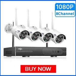 Hiseeu 1080P Wireless CCTV Camera System
