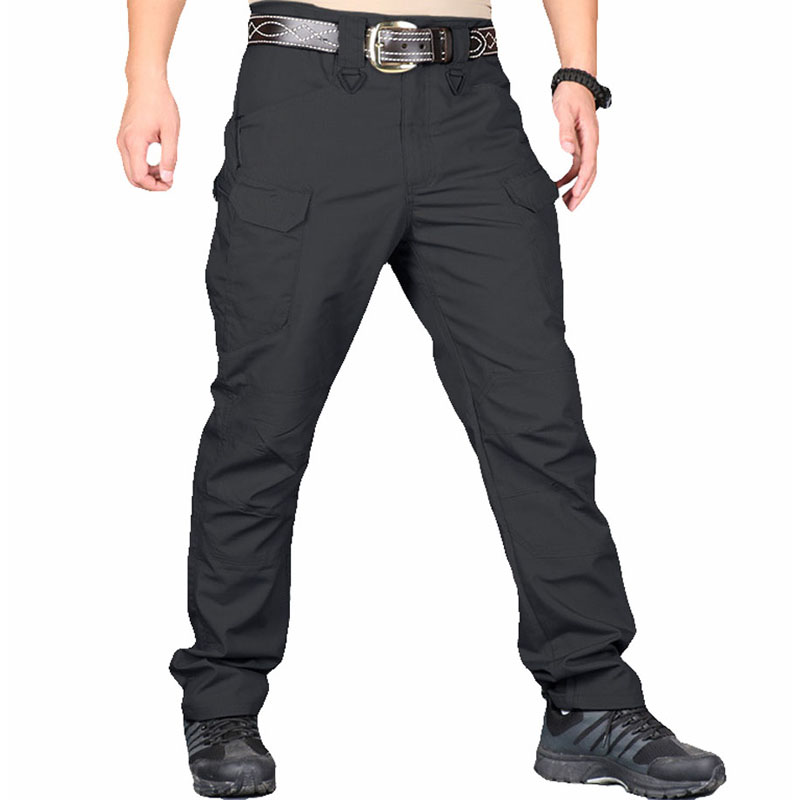 Image 5 - IX9/IX7 City Military Tactical Men Pants swat Combat Army Pants Casual Trousers pantalones Multiple Pocket Cargo Pants Men 5XLCargo Pants   -